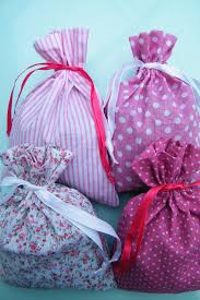 Cotton Drawstring Gift Bags