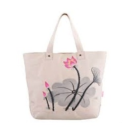 Reusable Cotton Shopping Bags With Two handle