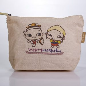 HIGH QUALITY CANVAS COSMETIC BAG 2